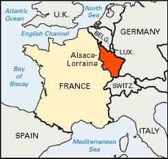 map alsace lorraine